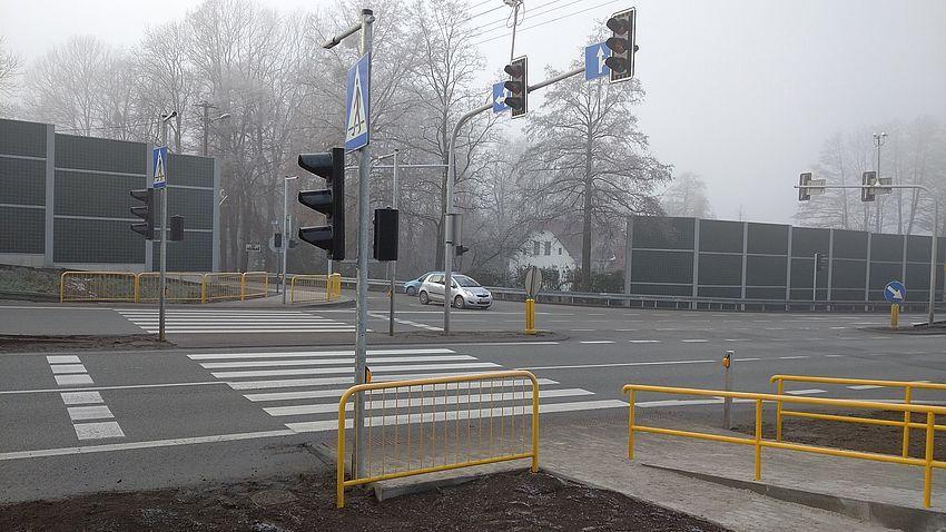 Nowa sygnalizacja świetlna w Pawłowicach