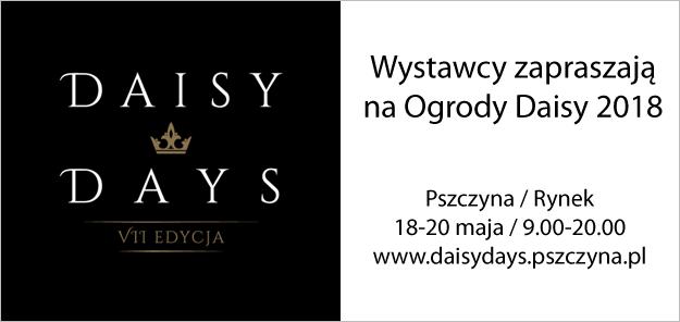 Daisy Days18 - 20 maja 2018 r.