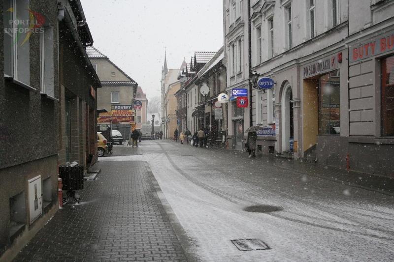 Niedawno wichura, teraz śnieżyca?