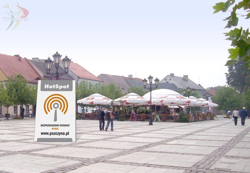Bezpłatny dostęp do Internetu na Rynku!