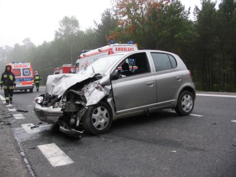 Ku przestrodze - kolejny wypadek na DK 1