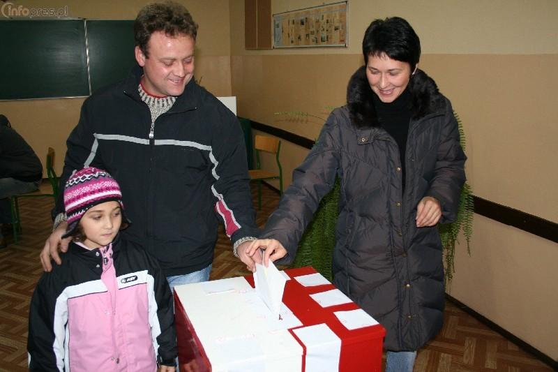 Powiat pszczyński ma najniższą frekwencję w okręgu nr 27