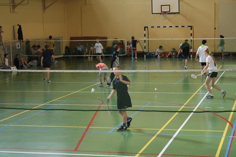 Po wojewódzkim turnieju badmintona w Pszczynie