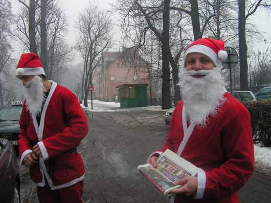 Mikołaje w Pszczynie