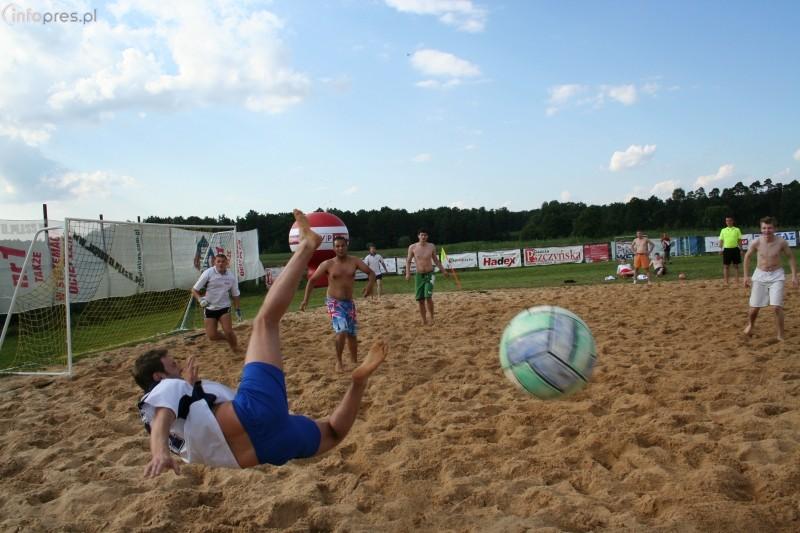 III Turniej Piłki Nożnej Plażowej o Puchar Wydawcy