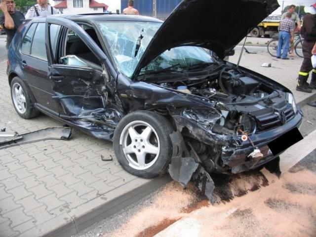 Sierpniowe wypadki - zobacz zdjęcia