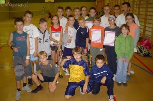 Turniej Wojewódzki w Badmintonie