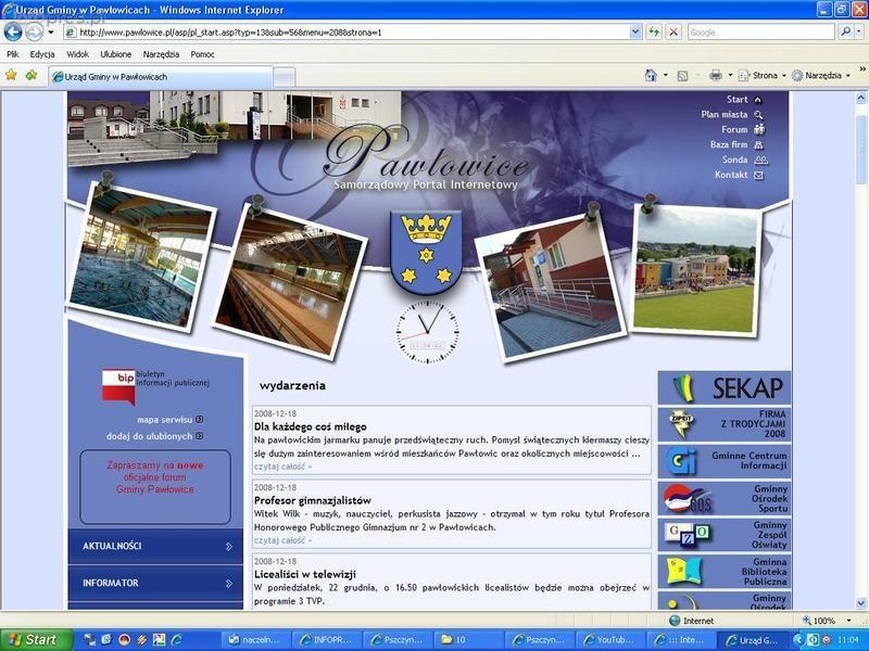 Nowa strona gminy