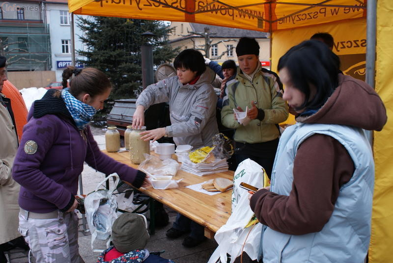 Zupa wigilijna na rynku