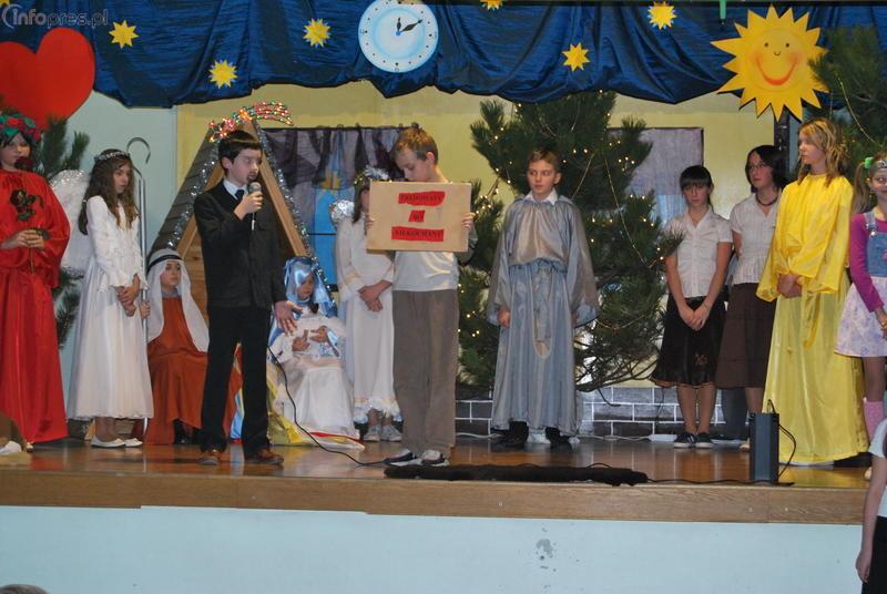 Przedstawienie Bożonarodzeniowe w jankowickiej SP