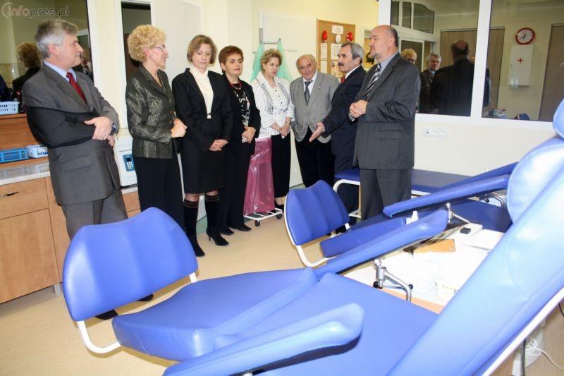 Stacja krwiodawstwa oficjalnie otwarta
