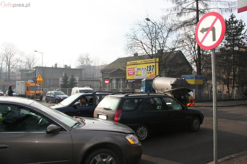 Chaos na Sokoła i Dworcowej