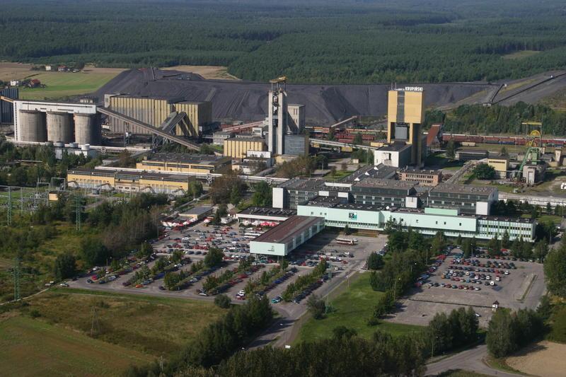KWK Krupiński - rejon katastrofy znów otamowany