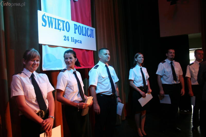 Policjanci obchodzili swoje święto