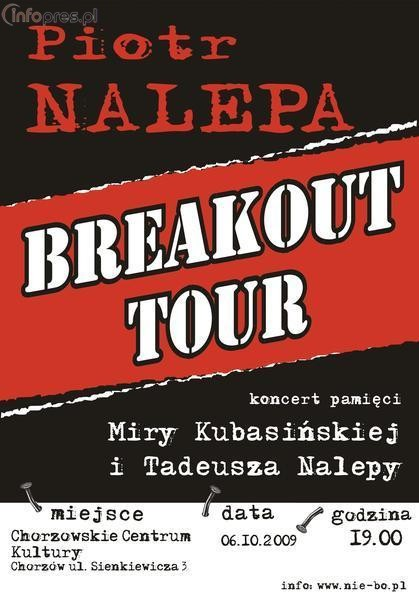 Mamy podwójne zaproszenie na koncert Breakout!