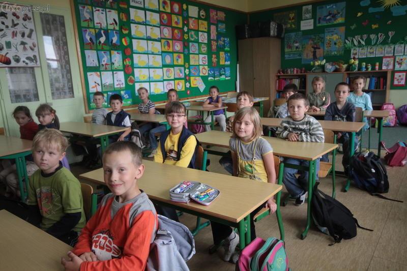6-latki w szkole