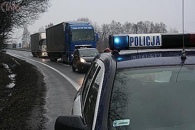 Wypadek w Warszowicach
