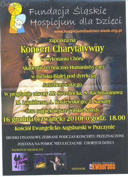 Koncert dla Fundacji Śląskie Hospicjum dla Dzieci