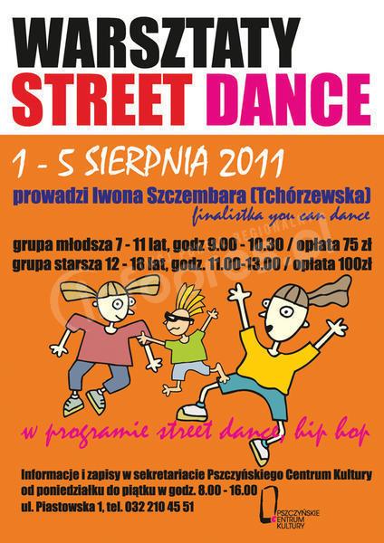 Warsztaty Street Dance