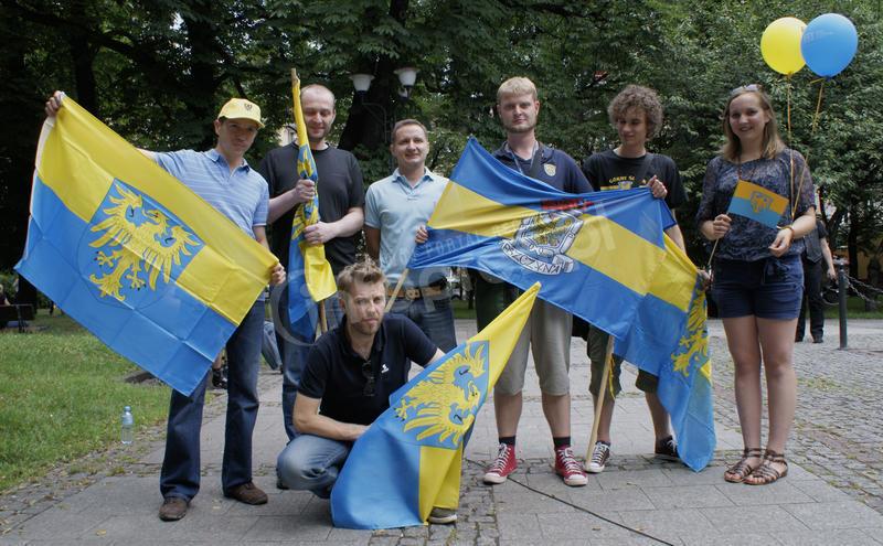 Pszczynianie wzięli udział w Marszu Ruchu Autonomii Śląska