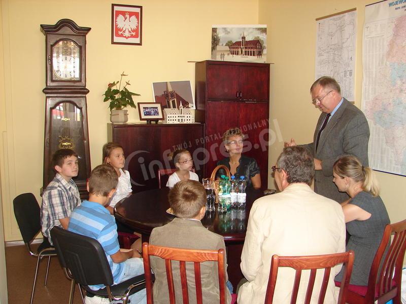 Uczniowie z Krzyżowic nagrodzeni