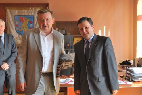 Chorwacki wicepremier z wizytą w Pszczynie