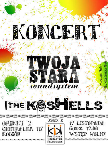 The Koshells i Twoja Stara Soundsystem