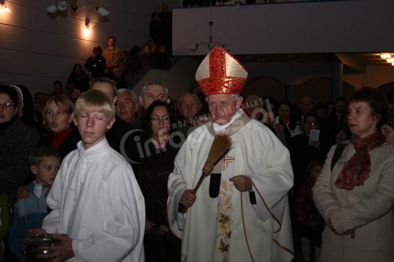 Biskup poświęcił kościół na os. Daszyńskiego