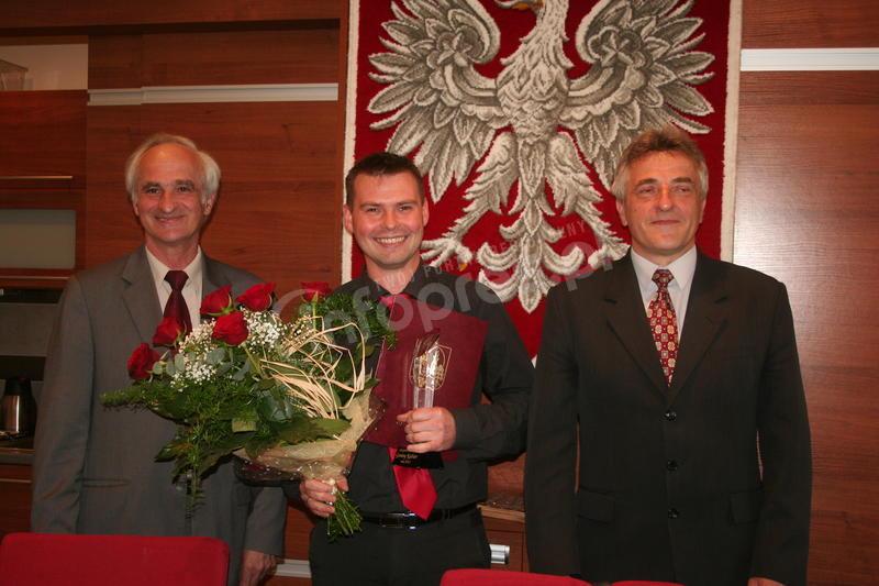 Nagrodzili Mirka Lazarka
