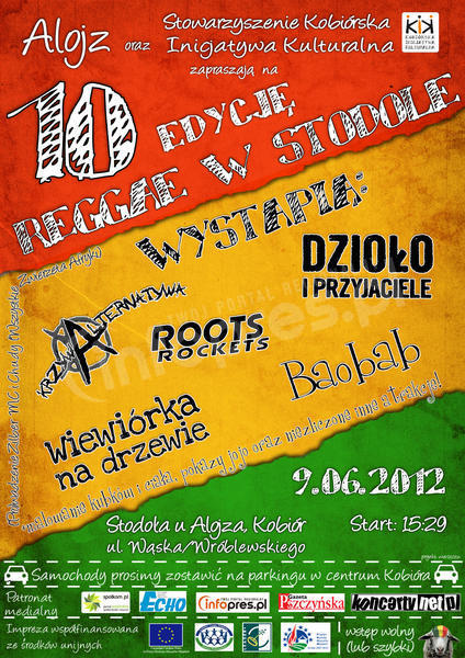 Reggae w Stodole 2012
