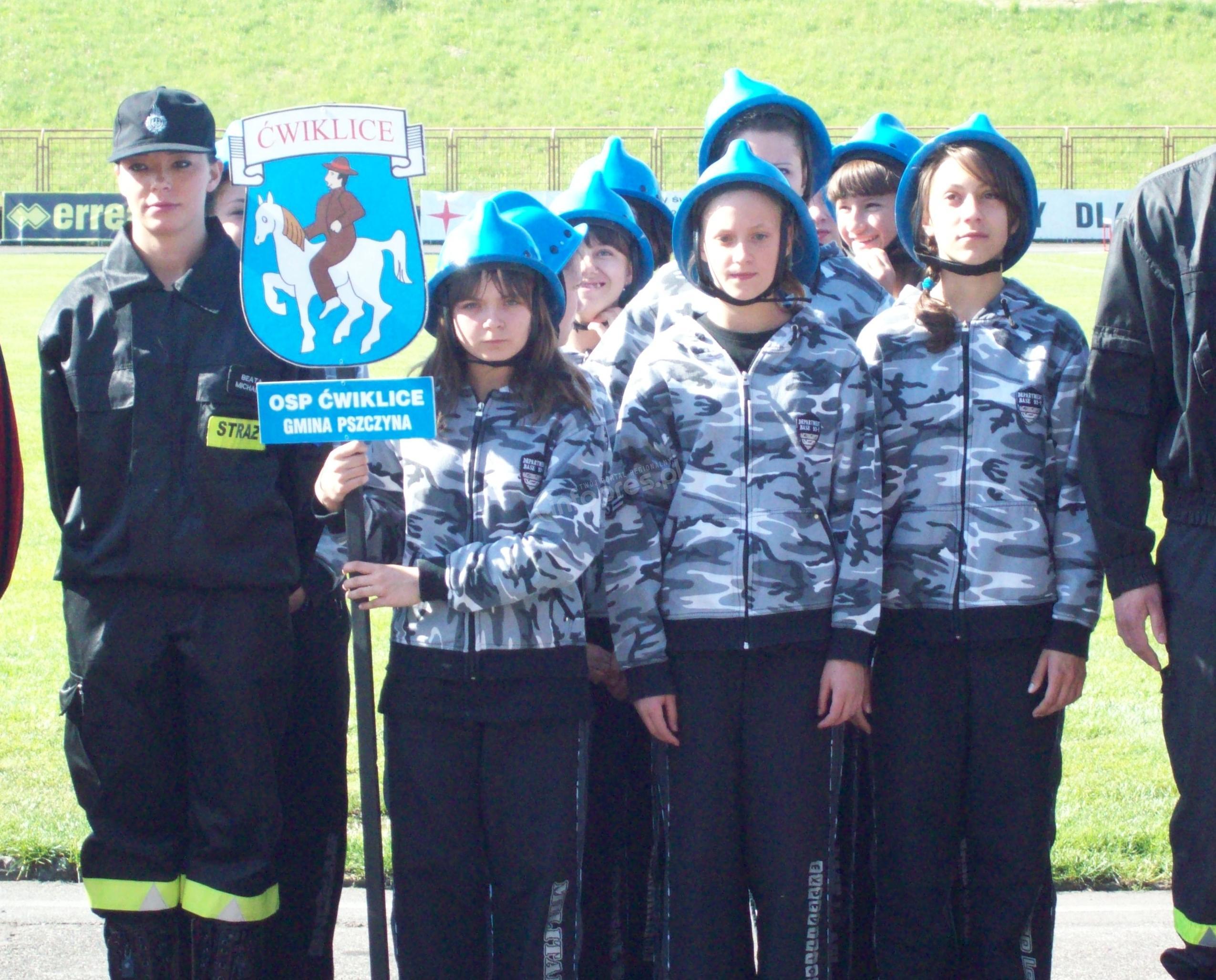 OSP Ćwiklice i Pawłowice na podium zawodów wojewódzkich