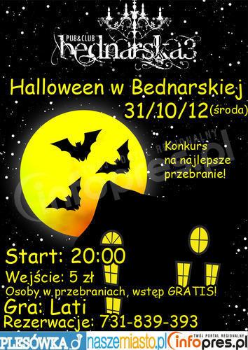 Halloween w Bednarskiej