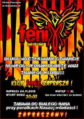 Otwarcie klubu Fenix
