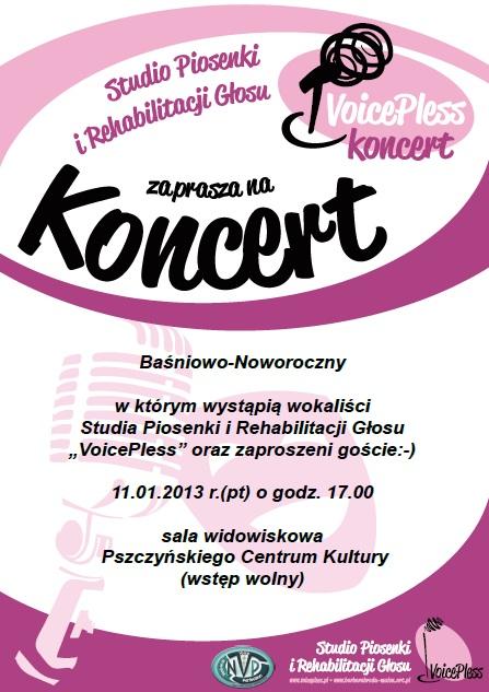 Koncert Baśniowo-Noworoczny