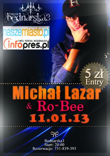 Michał Lazar i Ro-Bee w B3