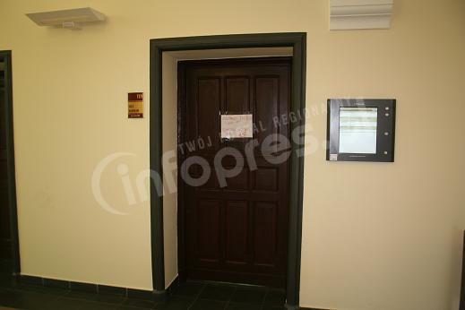 Rozprawa komendanta za zamkniętymi drzwiami