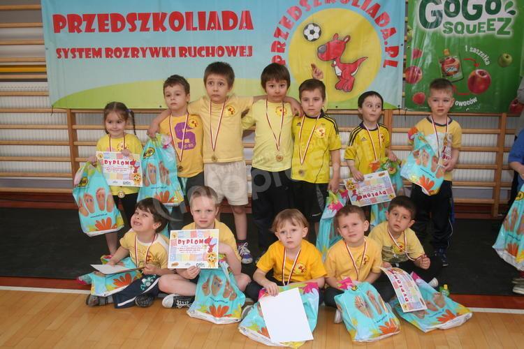 Przedszkoliada w Pawłowicach