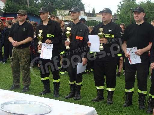 Strażacy ze Studzienic najlepsi w zawodach!