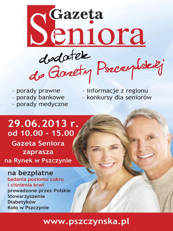 Seniorze - zbadaj poziom cukru i ćiśnienia krwi
