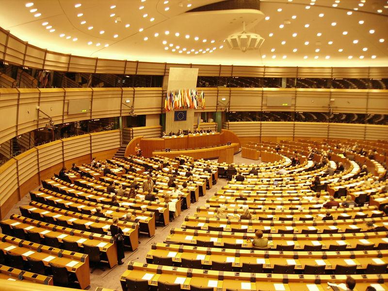 Ewa zwiedzi Parlament Europejski