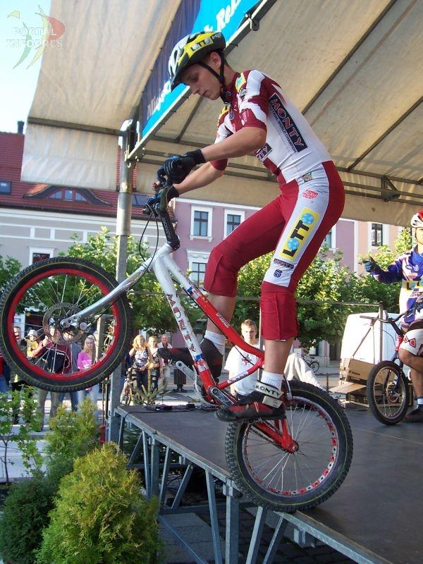 Tomasz Kramarczyk o trialu rowerowym