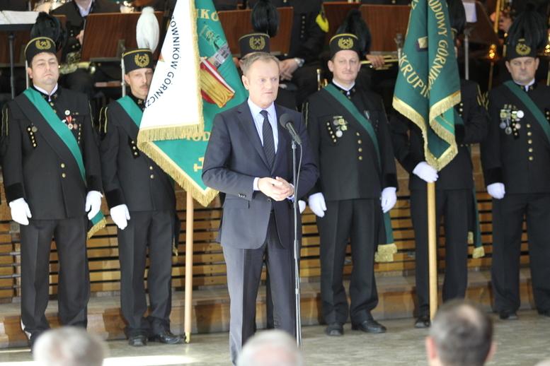 Premier na Barbórce w Suszcu: węgiel jest polskim skarbem