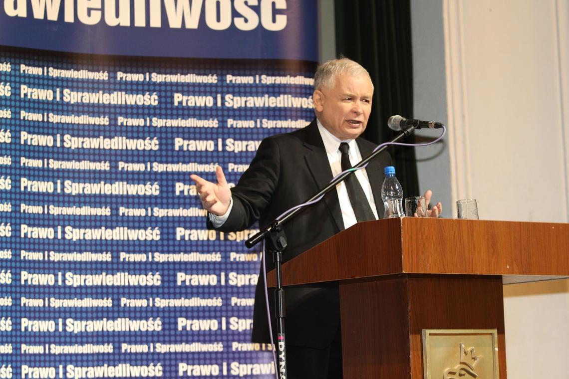 Jarosław Kaczyński w Pszczynie: znajdziemy bilion złotych