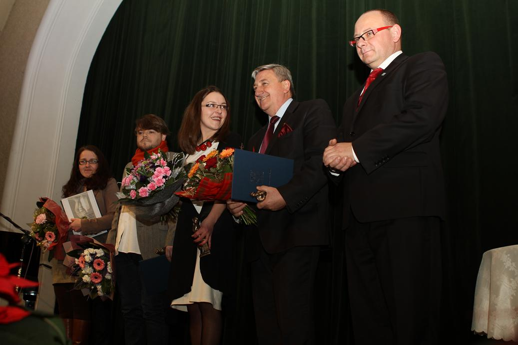Burmistrz przyznał nagrody w dziedzinie kultury
