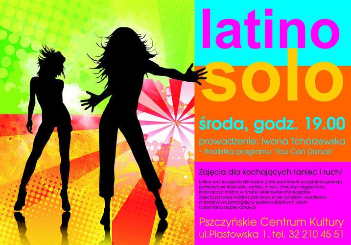 PCKul zaprasza panie na zajęcia latino solo