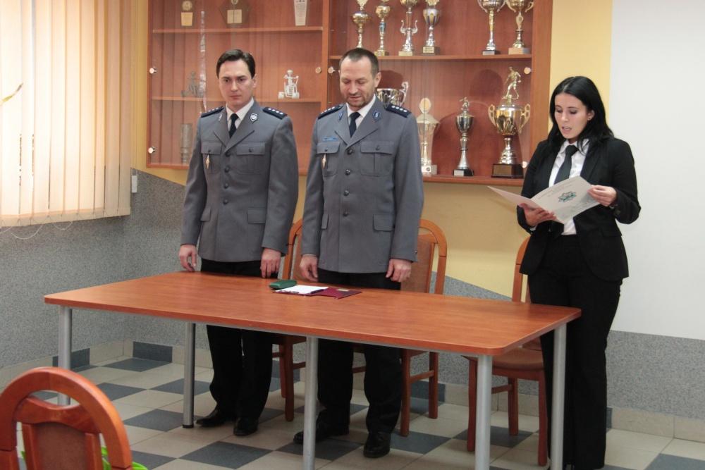 Nowy zastępca komendanta policji