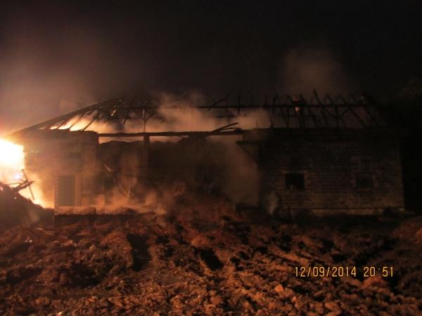 Pożar w Warszowicach gasiło 11 zastępów straży pożarnej