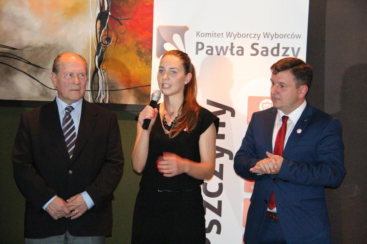 Paweł Sadza przedstawił zespół, z którym idzie do wyborów