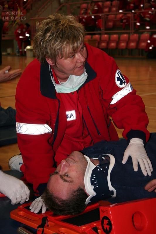 Ratownicy medyczni ćwiczyli w Suszcu