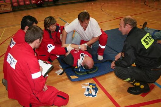 Ćwiczenia ratowników medycznych